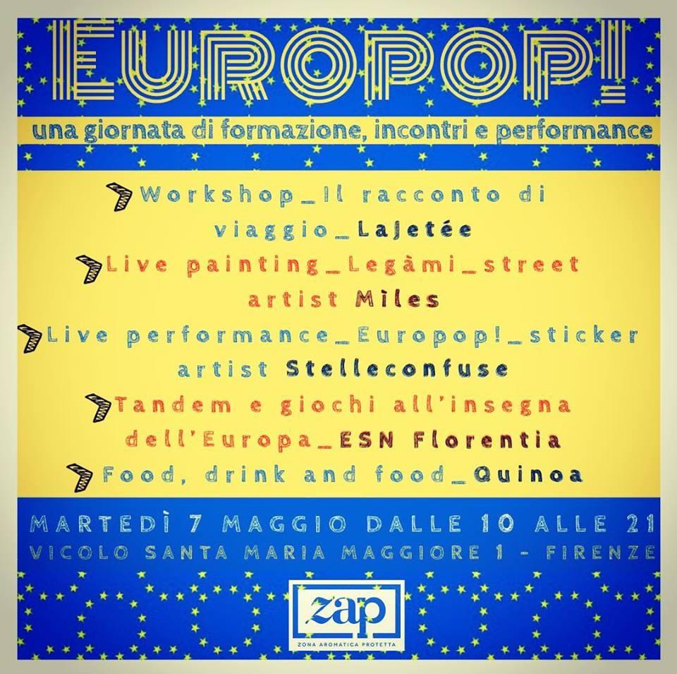EUROPOP! Una giornata all'insegna della creatività, dell'incontro e della formazione