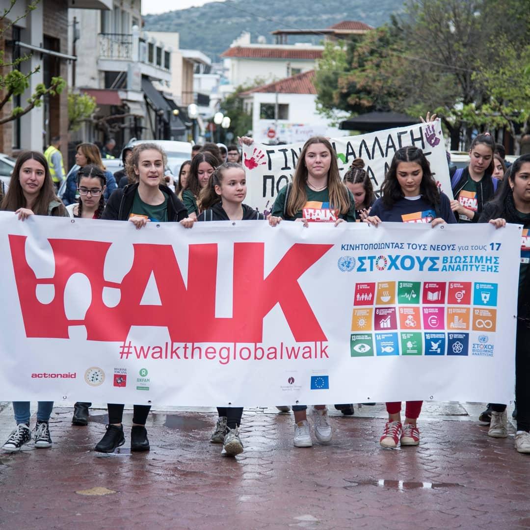 Marcia globale per i diritti umani